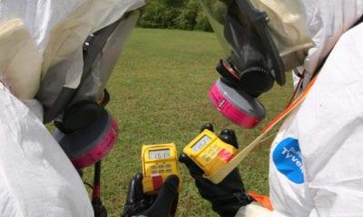 CDP Radiation Detection Training Exercise
