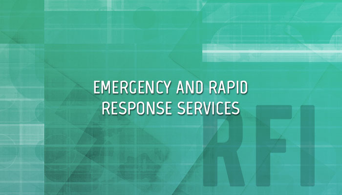 EPA Emergency and Rapid Response Services