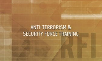 Anti-Terrorism and Naval Security Force Training