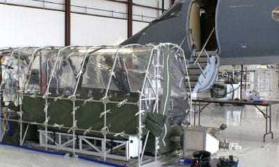 Aeromedical Biological Containment System for Ebola
