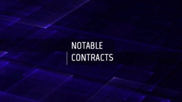 CBRNE Central Notable Contracts