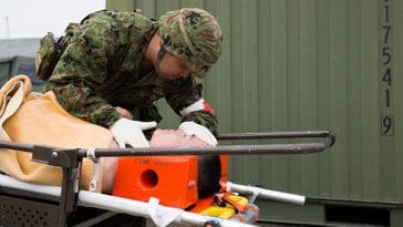U.S. and Japan Conduct Joint CBRN Training