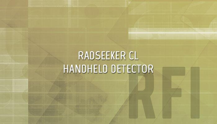 RadSeeker Handheld Isotope Identification