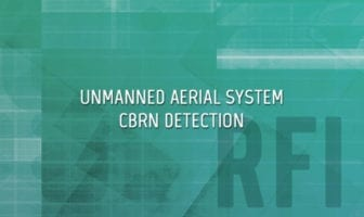 Unmanned Aerial System CBRN Detection