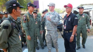 US and Thailand Joint EOD Training