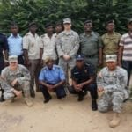 U.S. Army and Congolese EOD Joint Training