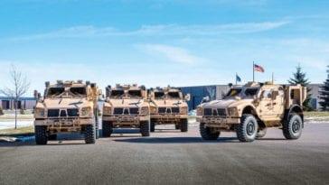 M-ATV Mine Resistant Vehicles