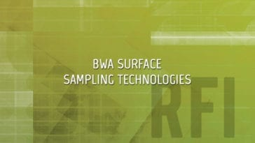 JBTDS Surface Sampling for Biological Warfare Agents (BWA)