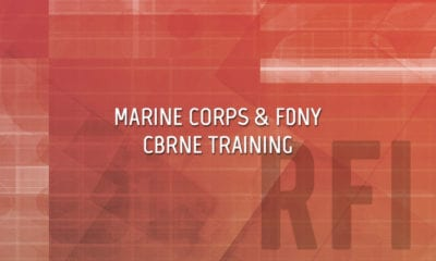 Marine Corps and FDNY Bilateral CBRNE Training