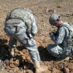 788 EOD Company Performs Explosives Destruction
