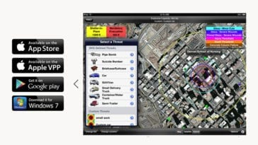 Hazmat Evac App for First Responders