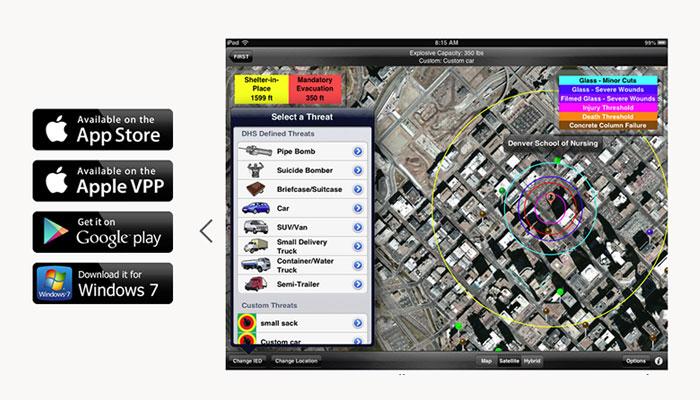 Hazmat Evac App Provides Critical Incident Response Information
