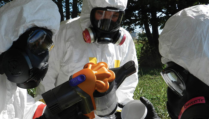 CBRN Nuclear Fallout Training