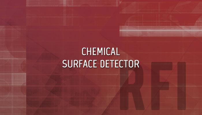 RFI Chemical Surface Detector