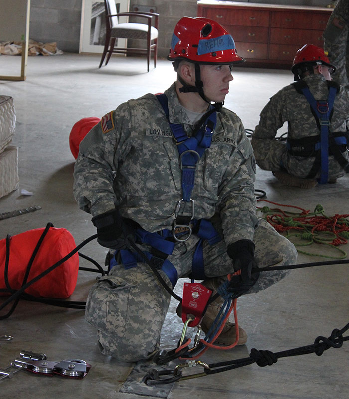 Search and Rescue Training at Guardian Center