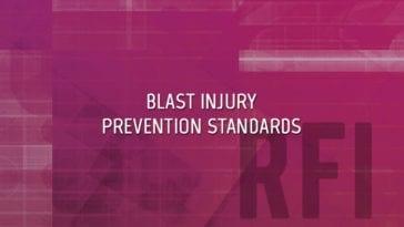 Blast Injury Prevention Standards