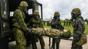 CBRN Mass Casualty Exercise