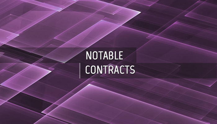Notable CBRNE Contracts
