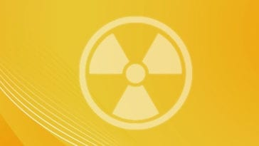 Radiation Hazard Symbol for Radiation Monitoring