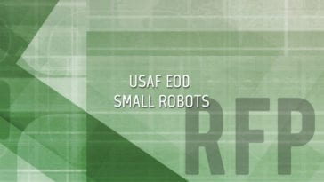 USAF EOD Small Robots