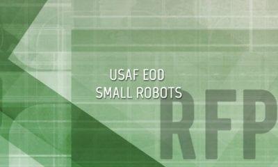 USAF EOD Small Robots
