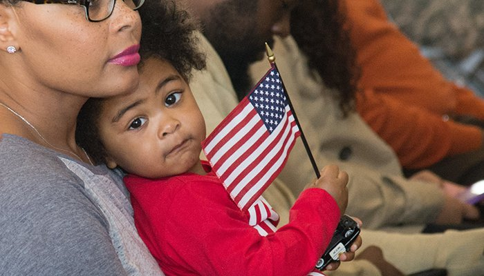 1st AML Families Welcome Home Service Members