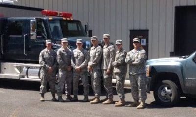 707th EOD Company at McChord Field
