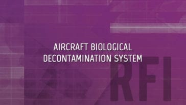 Aircraft Biological Decontamination System