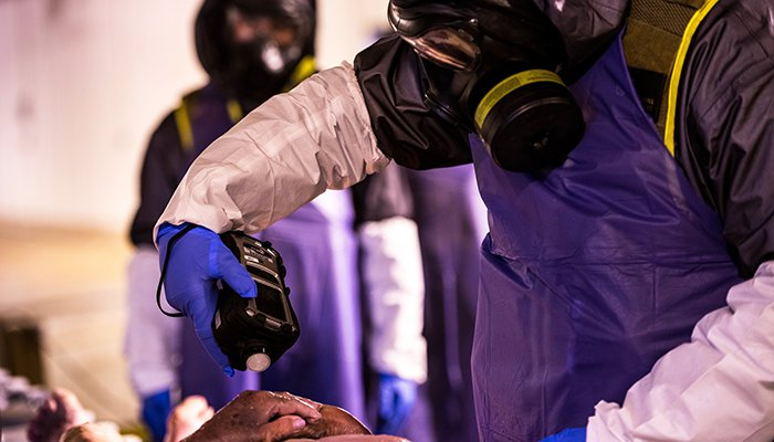 CBIRF CBRN Decontamination Exercise