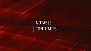 CBRN Funding Announcement - Notable Contracts