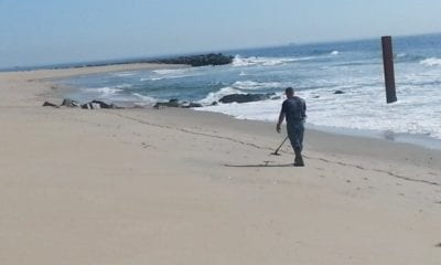 20th CBRNE CARA Clears Explosives from Beach