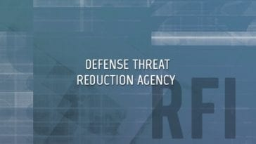 Defense Threat Reduction Agency RFI