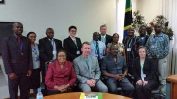 20th CBRNE Command Visits Tanzania