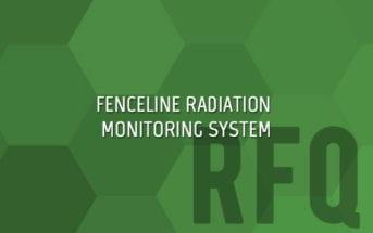 Fenceline Radiation Monitoring System
