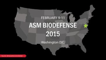 ASM Biodefense 2015