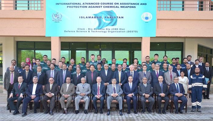 OPCW Course Held in Pakistan