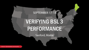 Eagleson Institute Verifying BSL 3 Performance