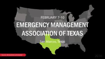Emergency Management Association of Texas 2016