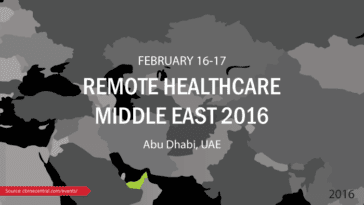 Remote Healthcare Middle East 2016