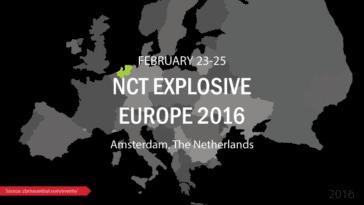 NCT Explosive Europe 2016