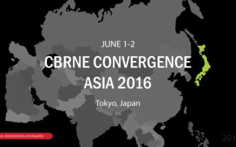 CBRNe Convergence Asia 2016