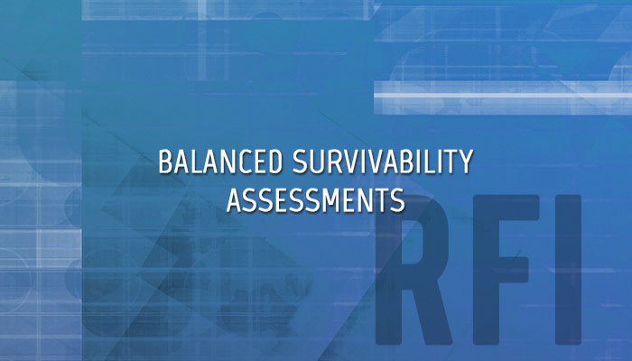 Balanced Survivability Blue Team Assessments