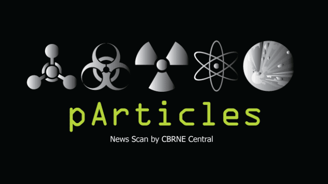 CBRNE Particles News Scan Top Stories