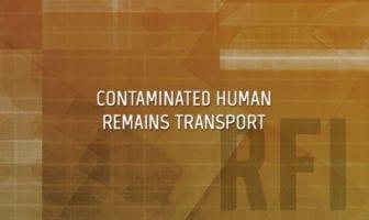 CBRN Contaminated Human Remains Transportation