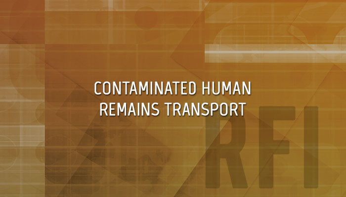 CBRN Contaminated Remains Transport Case | CBRNE Central