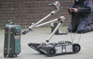 EOD Robots Field Training