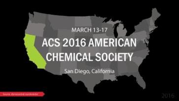 American Chemical Society ACS 2016