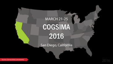 CogSIMA 2016 Situational Awareness