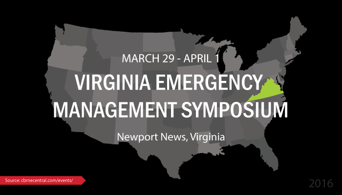 Virginia Emergency Management Symposium 2016