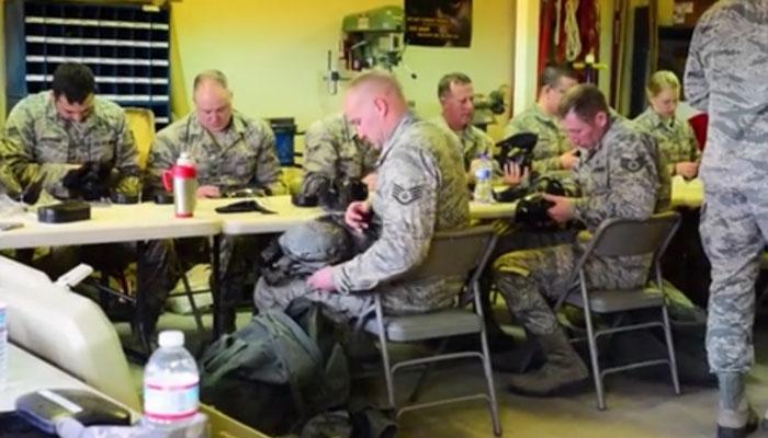 173rd Fighter Wing CBRN Pre-Deployment Training